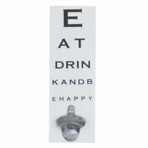 Eye Test Hangable Bottle Opener