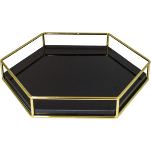 Product Image of Marble Hexagonal Decorative Tray