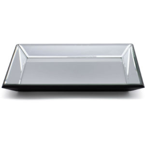 Rectangle Bevelled Mirrored Decorative Tray